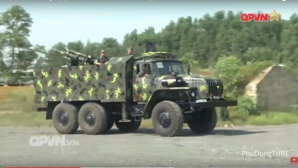 Việt Nam đưa pháo tự hành nội địa vào huấn luyện - Sputnik Việt Nam