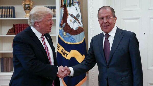 Ông Trump kể về cuộc gặp ông Lavrov - Sputnik Việt Nam