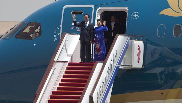 Chủ tịch nước Trần Đại Quang bắt đầu chuyến thăm Trung Quốc - Sputnik Việt Nam