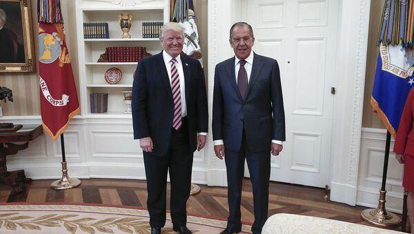 Ông Trump và ông Lavrov - Sputnik Việt Nam
