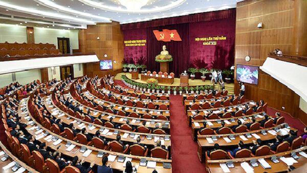 Trung ương Đảng sẽ họp bàn về tổ chức bộ máy và cán bộ - Sputnik Việt Nam