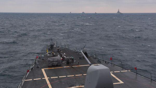tàu Mỹ ở Biển Đen - Sputnik Việt Nam