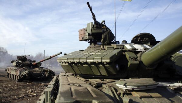 xe tăng Ukraina - Sputnik Việt Nam