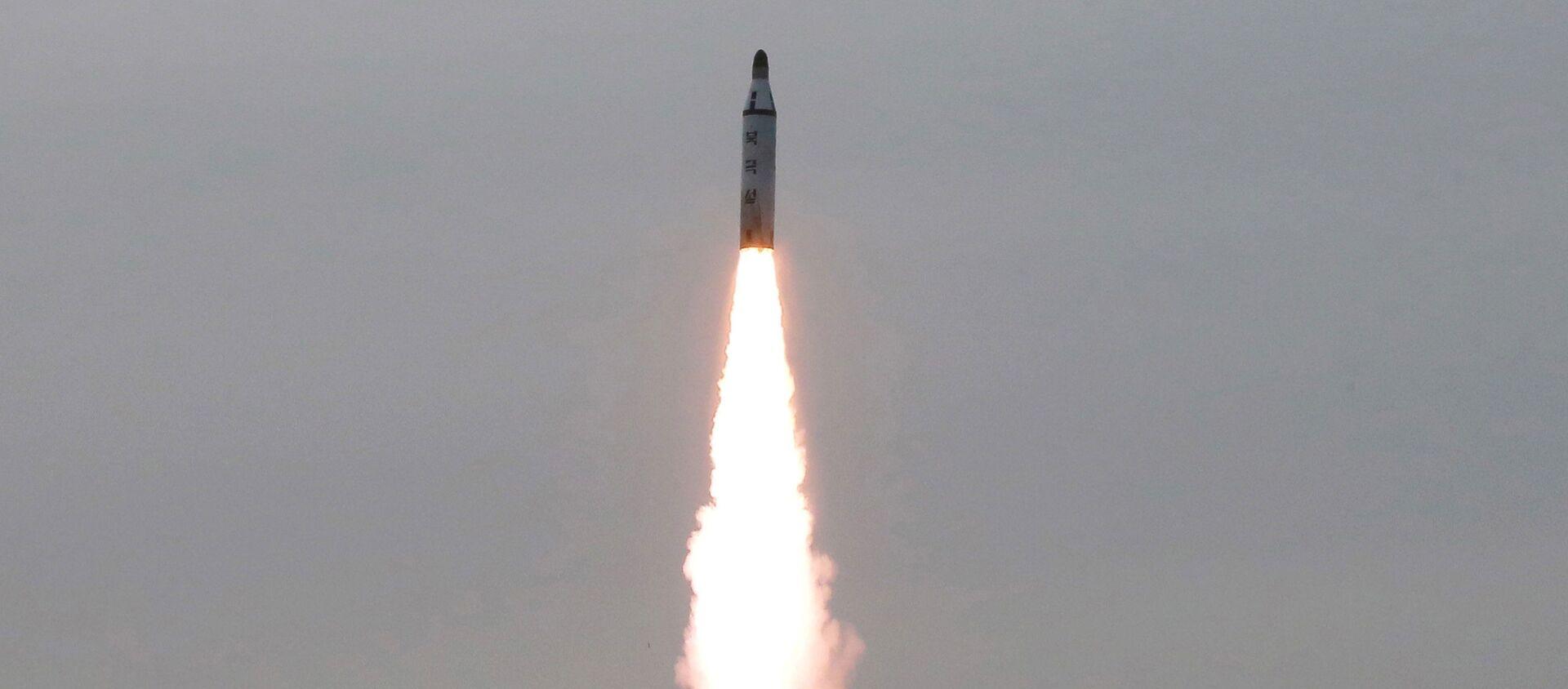 Một vụ phóng thử tên lửa của Triều Tiên - Sputnik Việt Nam, 1920, 28.09.2021