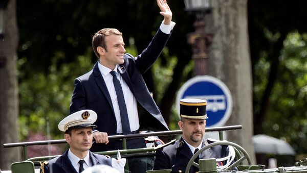Emmanuel Macron nhậm chức - Sputnik Việt Nam