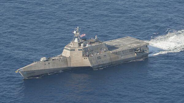 Tàu USS Coronado của Mỹ - Sputnik Việt Nam