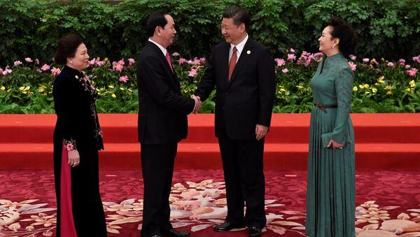 Chủ tịch Trần Đại Quang và Chủ tịch Tập Cận Bình - Sputnik Việt Nam