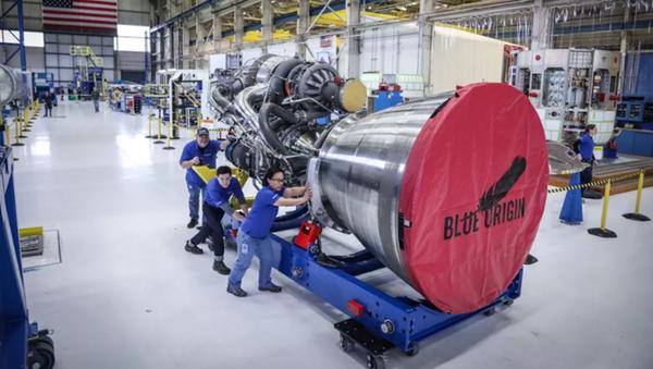 động cơ BE-4 Blue Origin - Sputnik Việt Nam