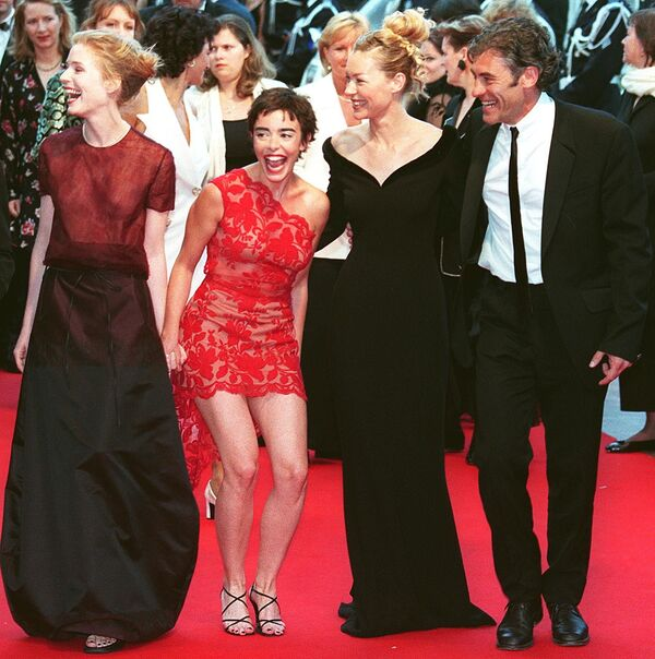 Khách tại Liên hoan phim Cannes lần thứ 51. Năm 1998. - Sputnik Việt Nam