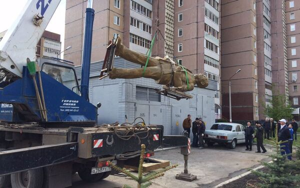Công trình dựng tượng đài Hồ Chí Minh tại thành phố Ulyanovsk - Sputnik Việt Nam