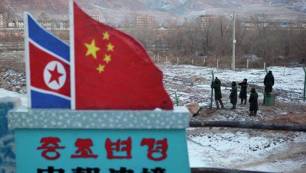 China North Korea Border - Sputnik Việt Nam