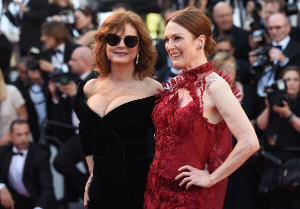 Dự Liên hoan phim Cannes lần này có các nữ diễn viên Mỹ nổi tiếng Susan Sarandon và Julianne Moore - Sputnik Việt Nam