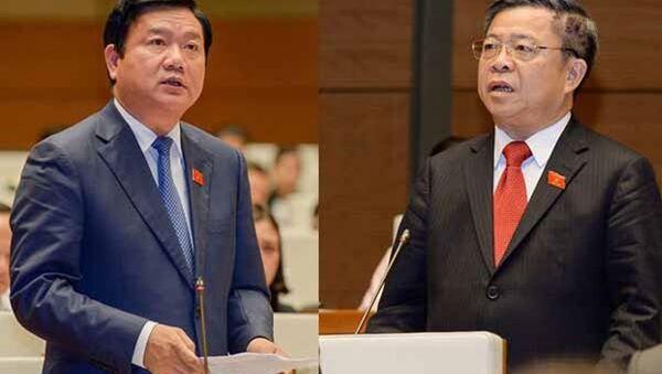 Ông ĐInh La Thăng và ông Võ Kim Cự - Sputnik Việt Nam