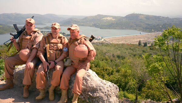 Quân nhân Nga ở Syria - Sputnik Việt Nam
