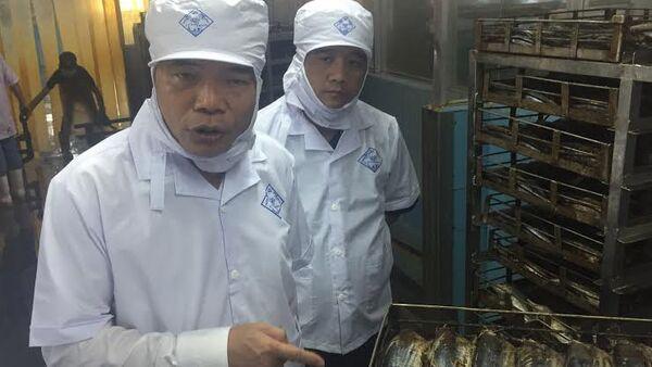 Bộ trưởng Nguyễn Xuân Cường khảo sát chuỗi liên kết thủy sản tại Công ty TNHH Nguyễn Hưng (Phú Yên) - Sputnik Việt Nam