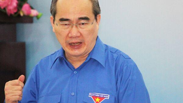 Ông Nguyễn Thiện Nhân đối thoại với đại biểu thanh niên TP HCM - Sputnik Việt Nam