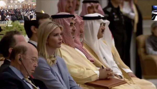 Bộ trưởng Mỹ ngủ gật khi Tổng thống Trump phát biểu tại hội nghị cấp cao - Sputnik Việt Nam