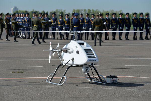 """Trực thăng trinh sát không người lái cỡ nhỏ Indela-I.N. Sky, sản phẩm của Phòng thiết kế """"Indel"""" (Minsk). - Sputnik Việt Nam"""