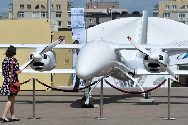 Và cuối cùng - thêm một mẫu khí cụ bay không người lái trong Triển lãm MILEX-2017. - Sputnik Việt Nam