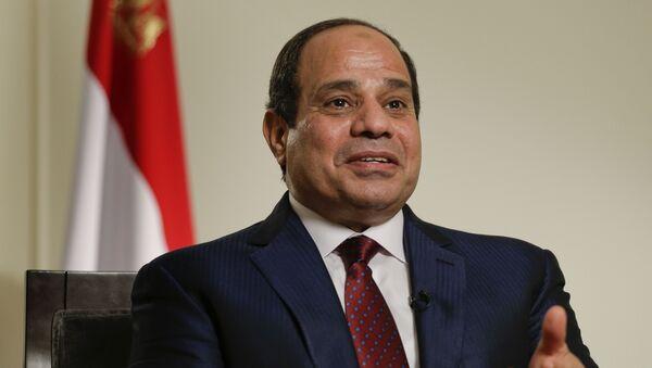tổng thống Ai Cập Abdel as-Sisi - Sputnik Việt Nam