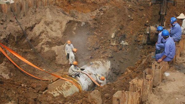 Đường ống nước sạch sông Đà liên tục gặp sự cố trong những năm qua - Sputnik Việt Nam