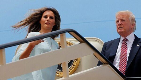 Melani và Donald Trump đến thăm Israel - Sputnik Việt Nam