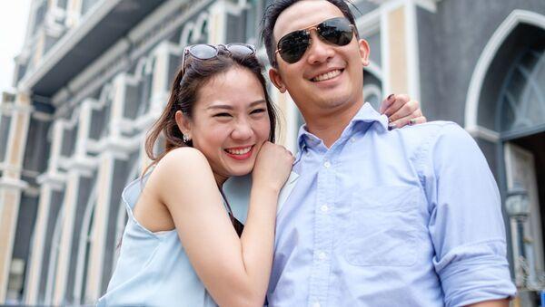 Пара влюбленных  - Sputnik Việt Nam