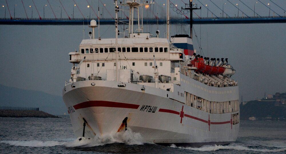 Tàu Irtysh Hạm đội Thái Bình Dương Nga