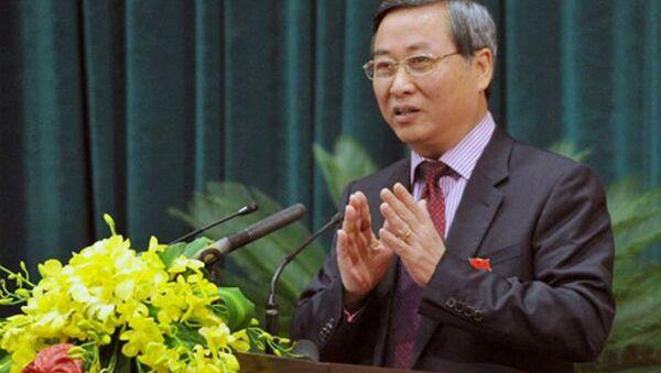 Ông Phí Thái Bình - Nguyên TGĐ Cty Vinaconex - Sputnik Việt Nam