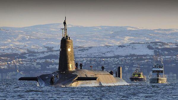 tàu ngầm hạt nhân lớp Vanguard (Anh) - Sputnik Việt Nam