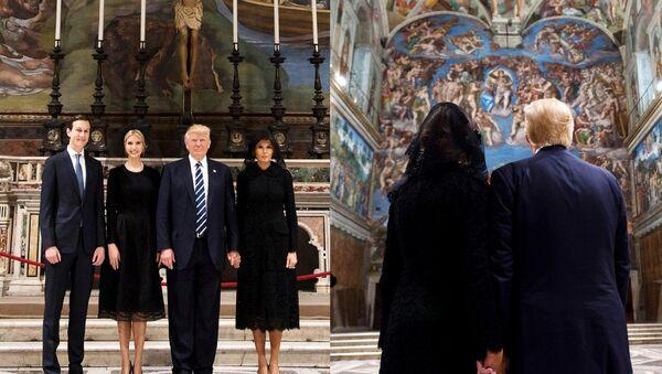 Melania và Donald Trump - Sputnik Việt Nam