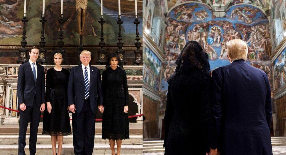 Melania và Donald Trump