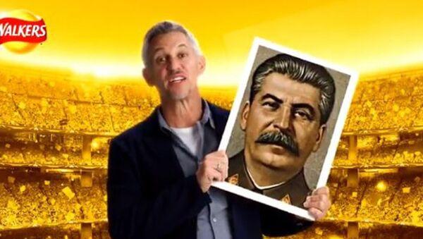 Quảng cáo bim bim với chân dung Stalin gây bê bối lớn - Sputnik Việt Nam