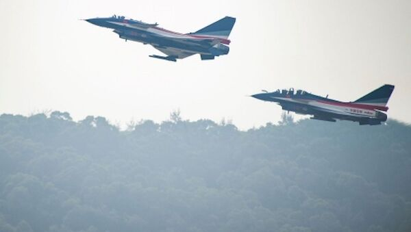 Máy bay J-10 của Trung Quốc - Sputnik Việt Nam