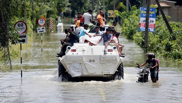Lũ lụt ở Sri Lanka - Sputnik Việt Nam