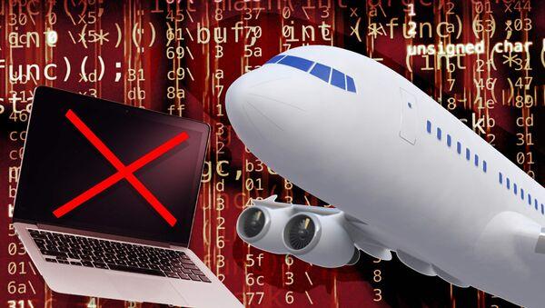 Mỹ cấm mang laptop trong máy bay - Sputnik Việt Nam
