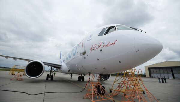 Chuyến bay đầu tiên của máy bay chở khách mới MC-21 của Nga - Sputnik Việt Nam