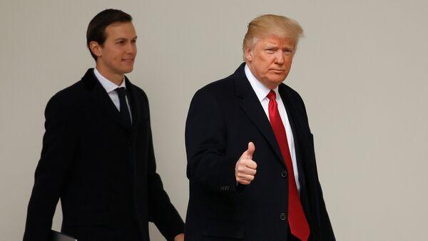 Jared Kushner và Donald Trump - Sputnik Việt Nam