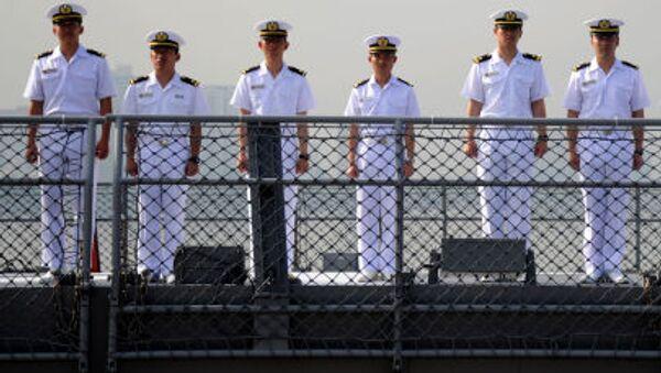 Các thành viên nhóm Lực lượng Phòng vệ biển Nhật Bản - Sputnik Việt Nam