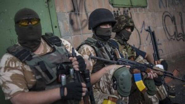 Vệ binh Quốc gia Ukraine - Sputnik Việt Nam
