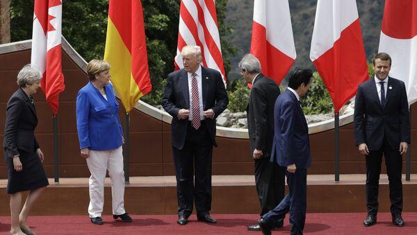 hội nghị thượng đỉnh G7 - Sputnik Việt Nam