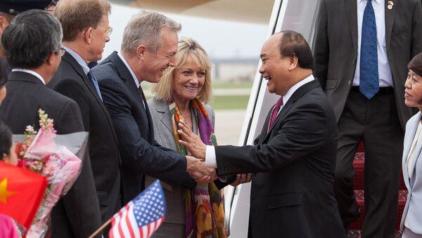 Thủ tướng VN đến thăm Washington DC - Sputnik Việt Nam