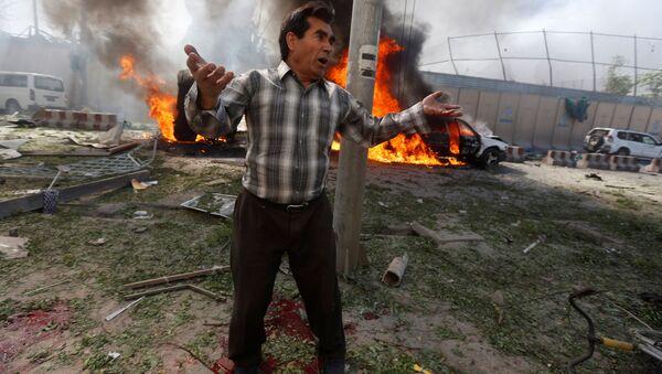 Nổ mạnh ở Kabul - Sputnik Việt Nam