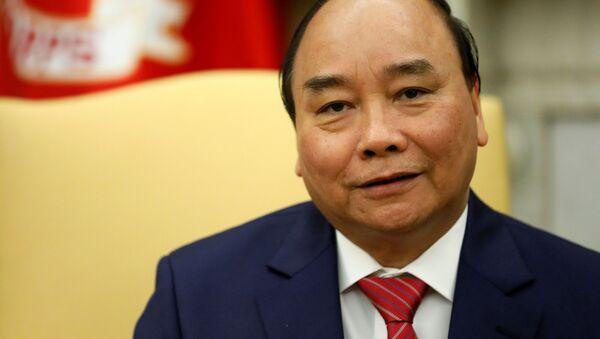 Thủ tướng Nguyễn Xuân Phúc tại cuộc hội đàm trong Nhà Trắng - Sputnik Việt Nam