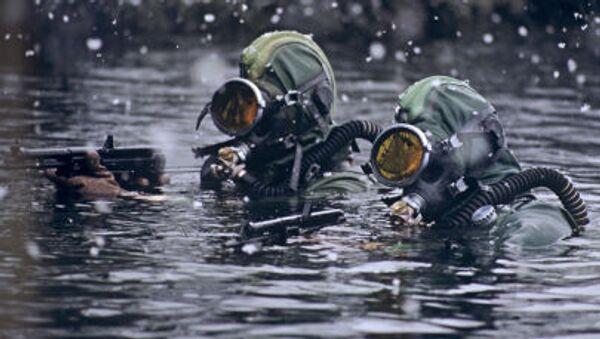 Binh lính  thuộc đội biệt kích ngầm của Hạm đội Biển Bắc - Sputnik Việt Nam