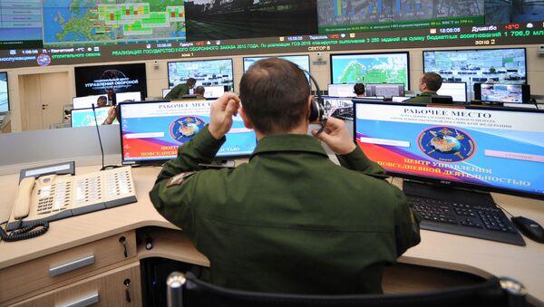 Quân nhân ở trung tâm các hoạt động hàng ngày của Lực lượng vũ trang Liên bang Nga - Sputnik Việt Nam