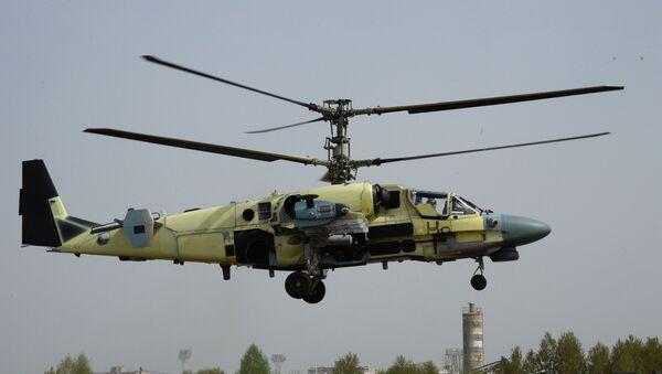Máy bay trực thăng chiến đấu Ka-52 Alligator của Nga - Sputnik Việt Nam