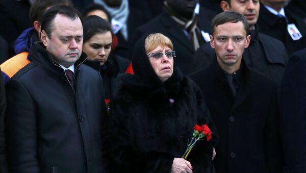 Bà Marina Karlova - vợ góa của ông Andrei Karlov, Đại sứ Nga bị giết hại ở Ankara hồi cuối năm ngoái - Sputnik Việt Nam
