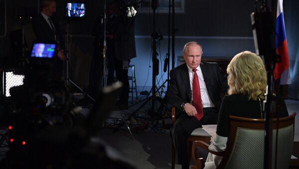 Cuộc phỏng vấn Tổng thống Nga Vladimir Putin trên kênh NBC - Sputnik Việt Nam