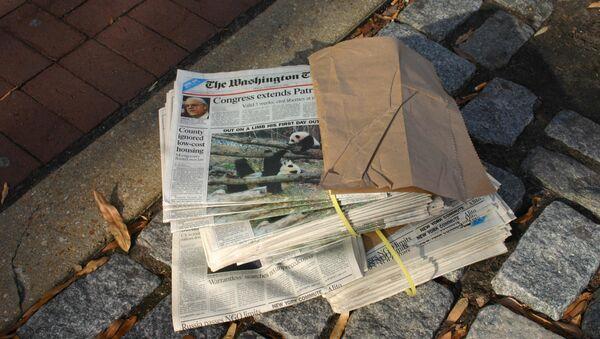 Báo Washington Times - Sputnik Việt Nam
